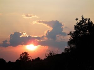 zachód słońca na Podlasiu - masza grander kogel mogel blog