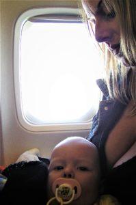 samolot z dzieckiem - masza grander kogel mogel blog