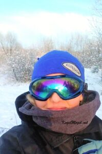 zima w goglach - masza grander kogel mogel blog